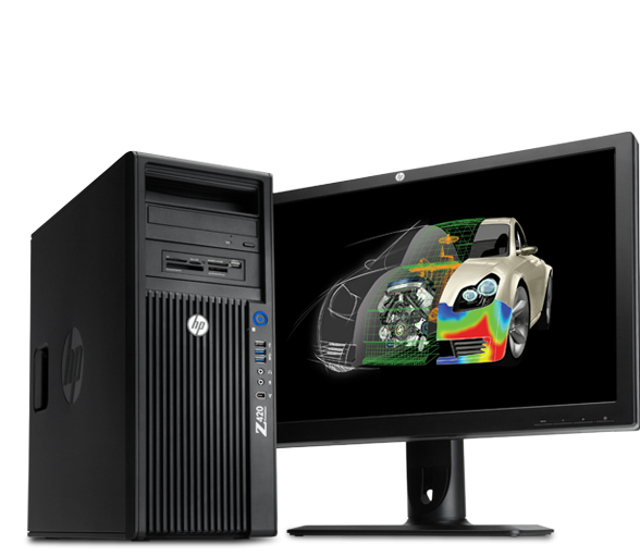 HP Z1 - 27 inch display all-in-one workstation