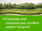 Calculate and compare your printer's carbon footprint